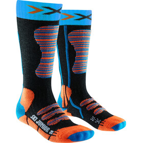 X-Bionic Ski Socks Junior Turquoise/Orange